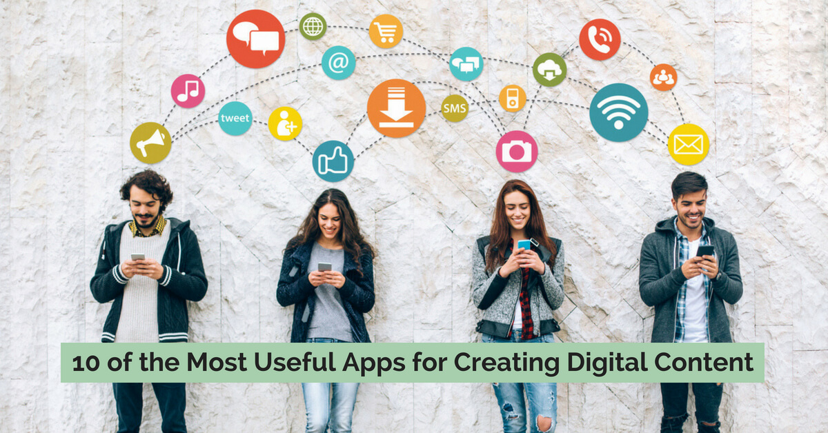 10 apps to help create digital content